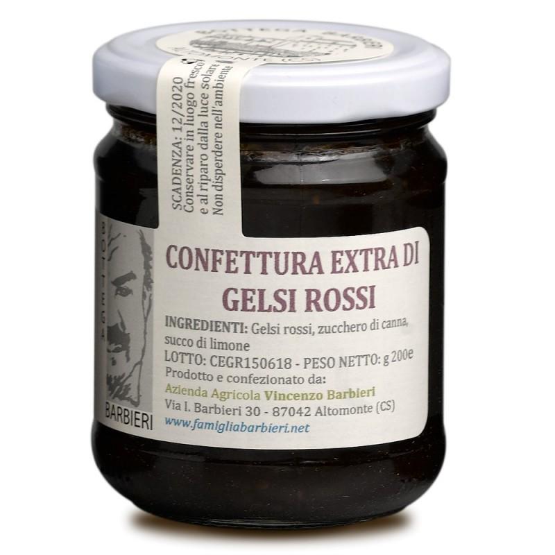 Confettura extra di gelsi rossi di Bottega Barbieri Altomonte
