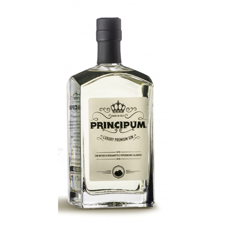 Gin calabrese non filtrato al bergamotto Principum