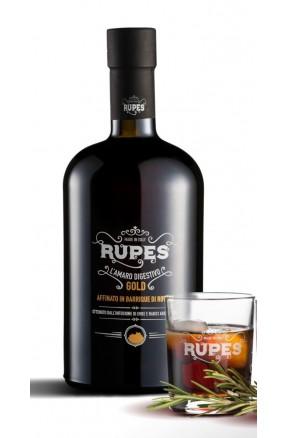Amaro calabrese Rupes Gold con passaggio in barrique