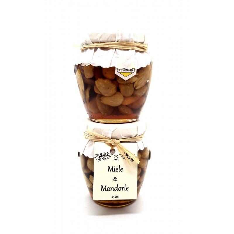 Miele di castagno bio con mandorle di Sicilia di Fragiacomo