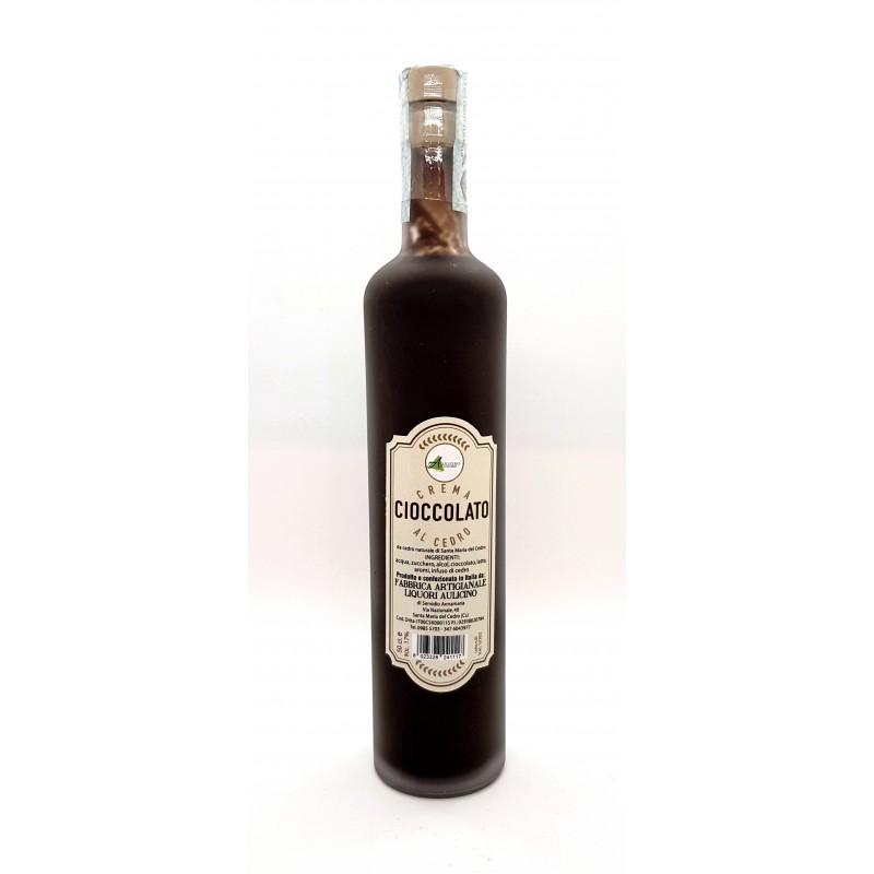 Crema di liquore al cedro e cioccolato di Liquorificio Aulicino