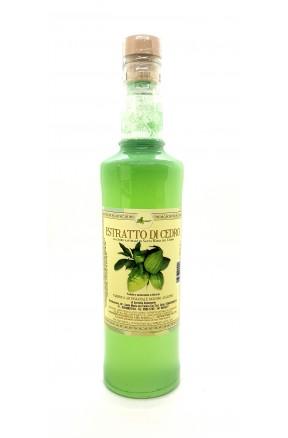 Estratto di cedro per preparazioni e ricette di Liquorificio Aulicino