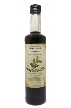 Liquore di liquirizia calabrese 1 litro di Petru i Ntoni