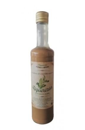 Crema di Liquore di liquirizia 50cl di Petru i Ntoni