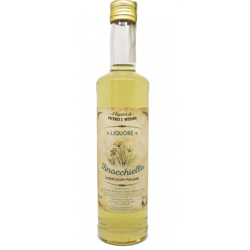 Liquore di finocchietto calabrese Finocchiello 50cl di Petru i Ntoni