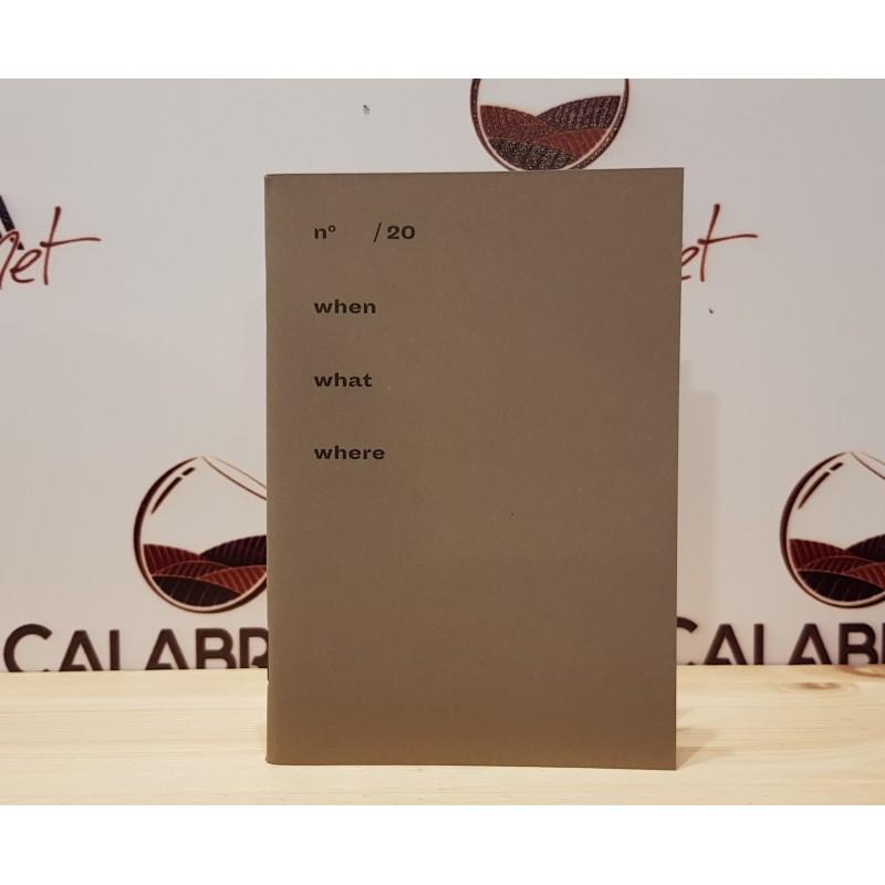 Quaderno noce piccolo a quadretti - ideale per degustazioni - di Positional