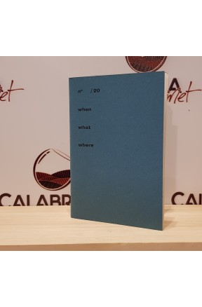 Quaderno blu piccolo a pagina bianca - ideale per degustazioni - di Positional