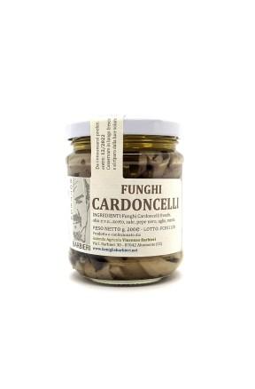 Funghi cardoncelli coltivati sott'olio di Bottega Barbieri Altomonte