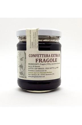 Confettura extra di fragole della Sila di Bottega Barbieri Altomonte