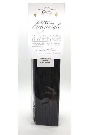 Pasta trafilata a bronzo spaghetti alla nero di seppia di Andrea Conte
