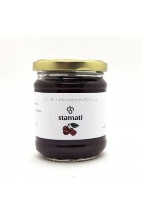 Confettura extra di ciliegie di montagna di Stamati