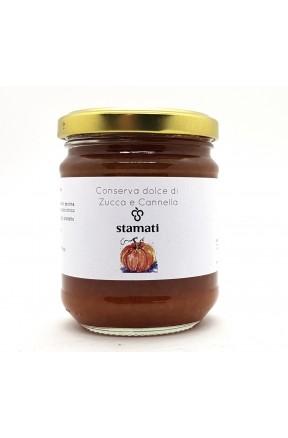 Conserva dolce di zucca e cannella di Stamati