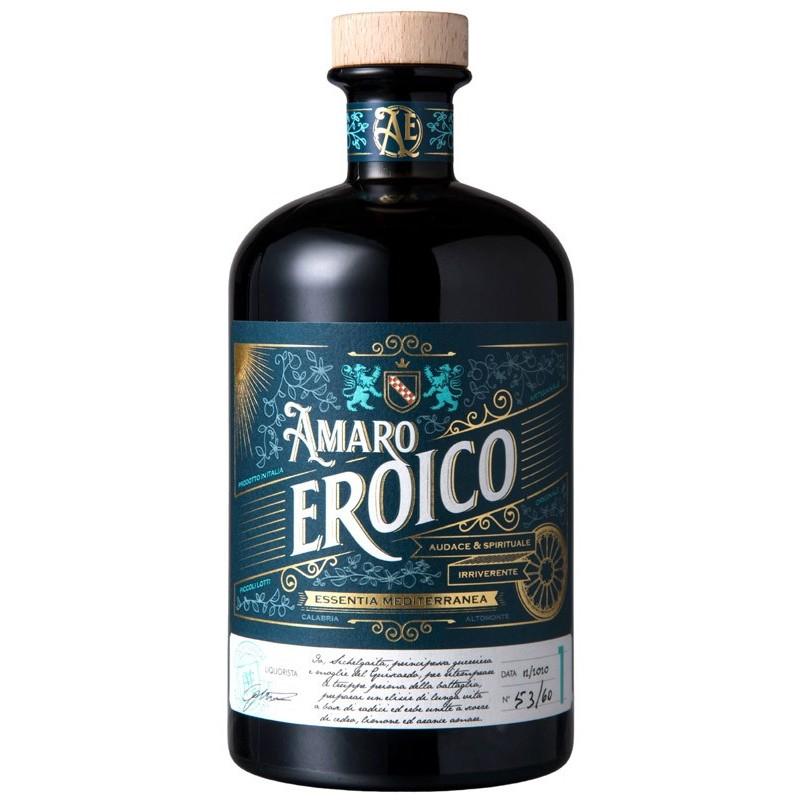 Amaro Eroico prodotto in Calabria di Essentia Mediterranea