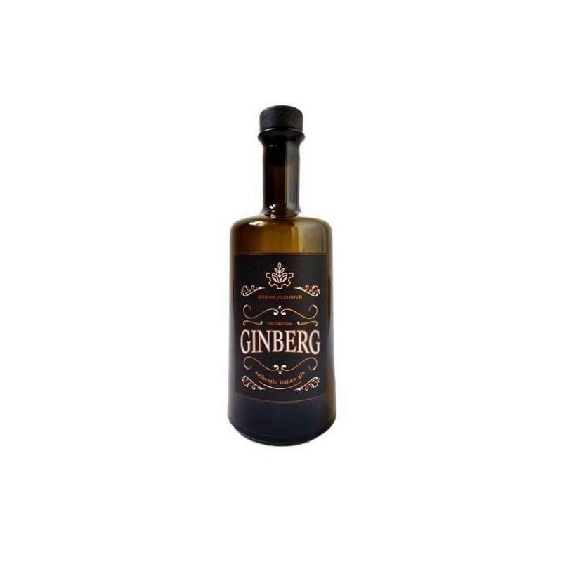 Gin calabrese Ginberg non filtrato al bergamotto di Officina degli Infusi