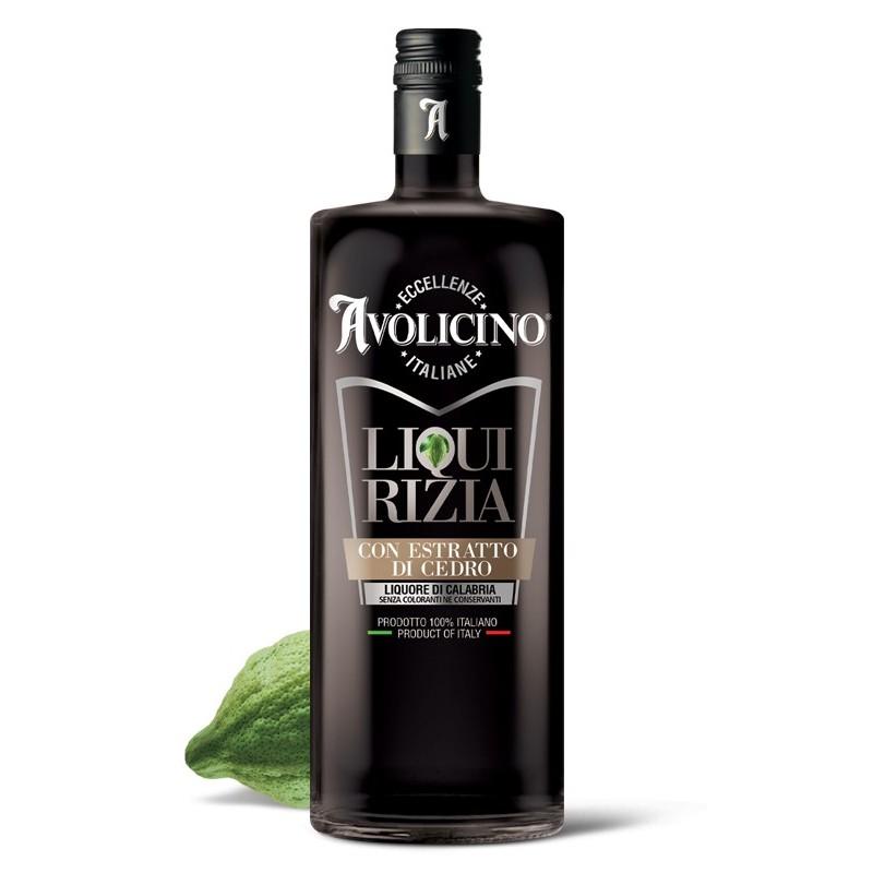 Liquore di Liquirizia calabrese con estratto di Cedro di Avolicino