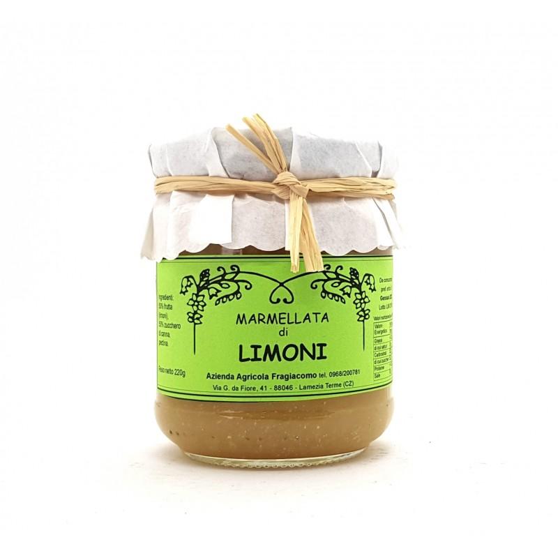 Marmellata extra di limoni di Calabria di Fragiacomo