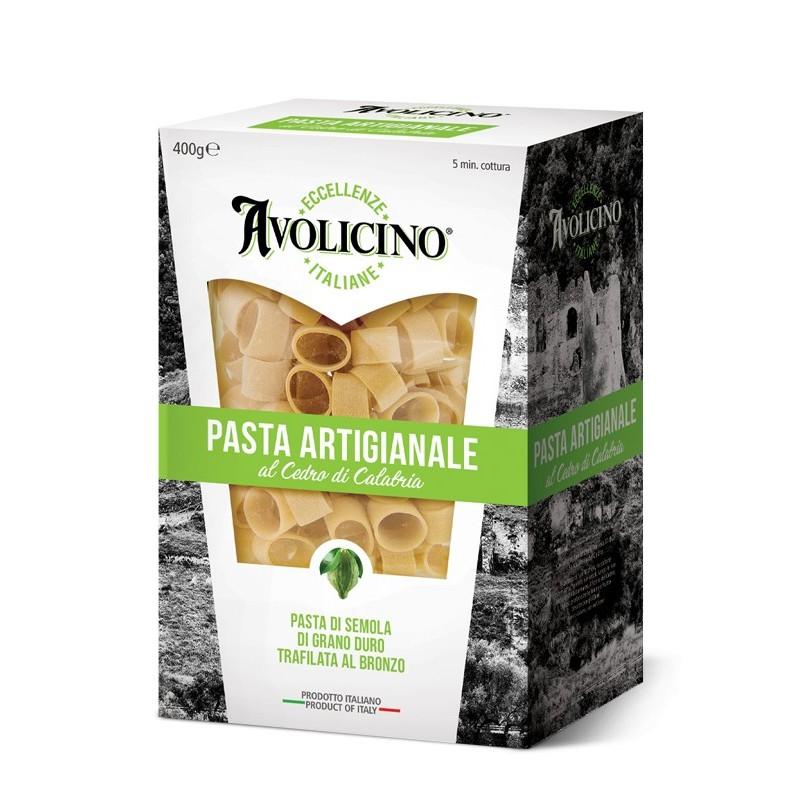 Pasta artigianale Mezzi Paccheri al Cedro di Avolicino