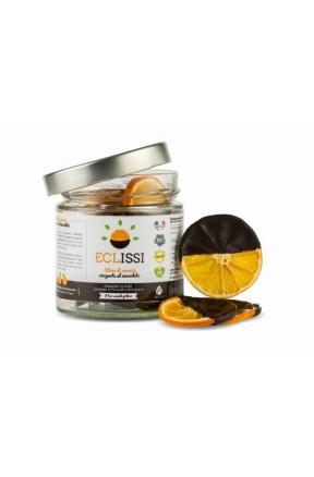 Slices di Arancia disidratata e Cioccolato di Biocal