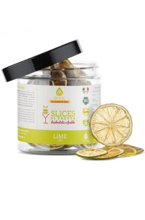 Slices di Lime Calabrese disidratato di Biocal
