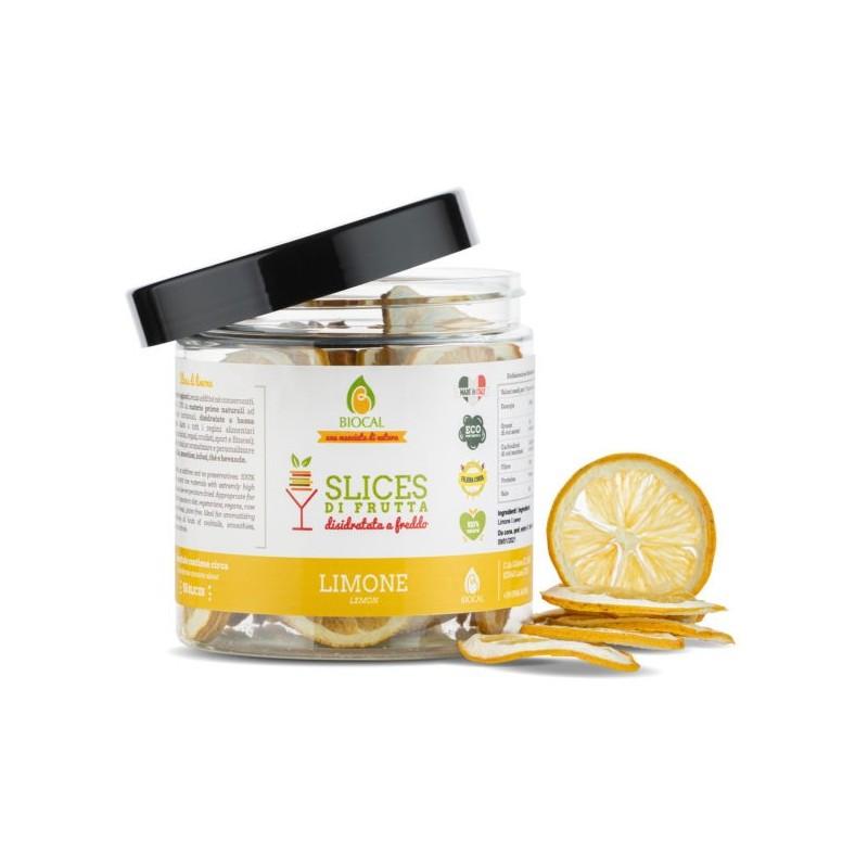 Slices di Limone Calabrese disidratato di Biocal