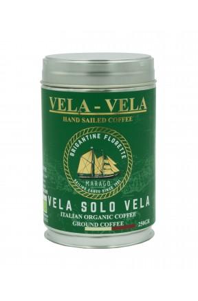 Caffè linea Vela Vela - Vela solo Vela bio - 250gr macinato di Marago Caffè