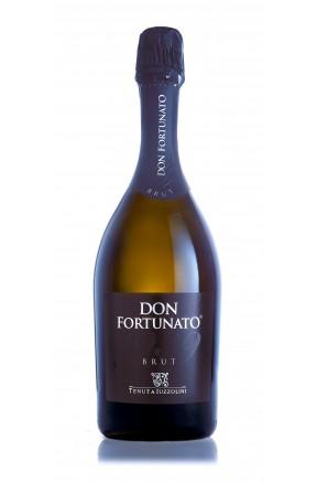 Vino spumante Don Fortunato brut di Tenuta Iuzzolini