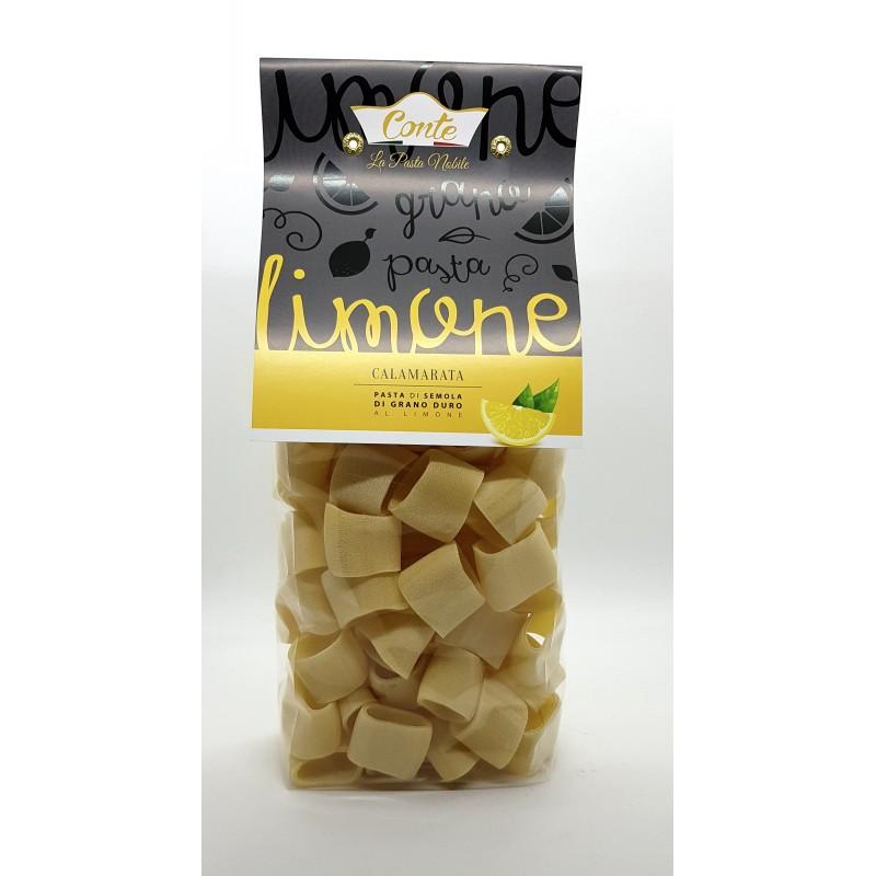 Pasta trafilata a bronzo calamarata al limone di Andrea Conte