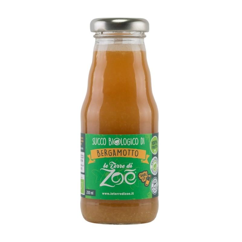 Succo di Bergamotto biologico 100% 200ml di Le Terre di Zoè