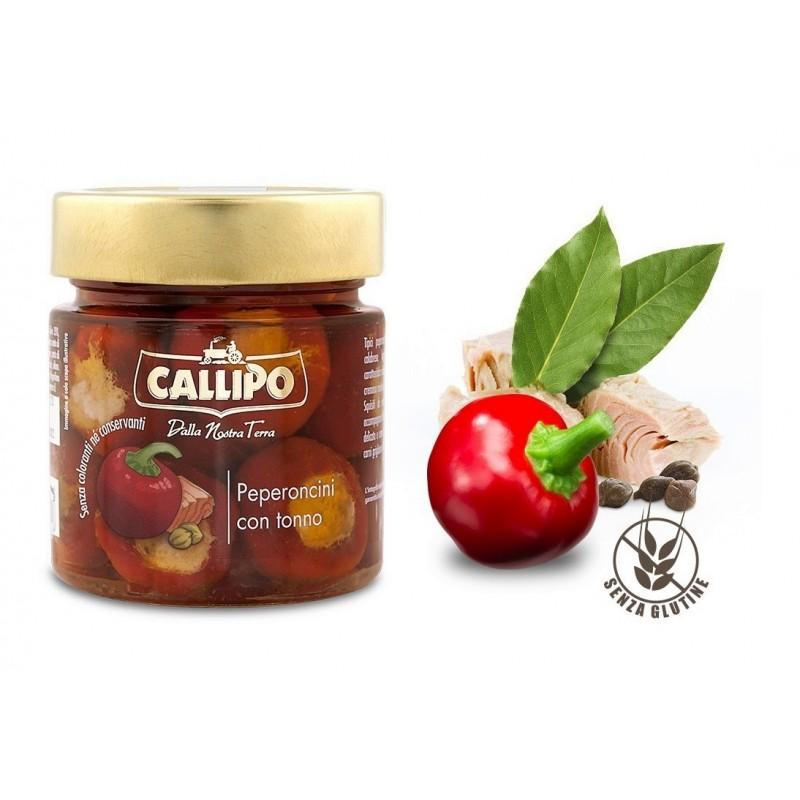 Peperoncini calabresi ripieni di tonno di Callipo