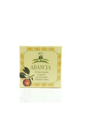 Filetti di arancia candita ricoperti di cioccolato di Marano