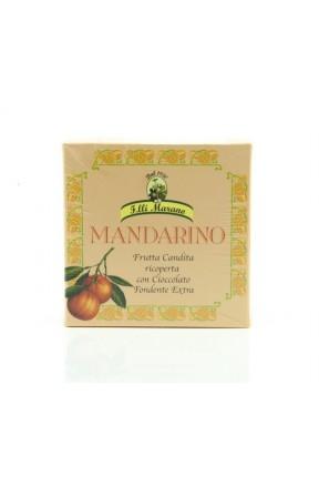 Filetti di mandarino candito ricoperti di cioccolato di Marano