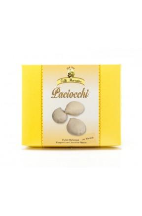 Paciocchi bianchi 250gr fichi con mandorle e cioccolato bianco di Marano