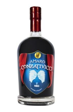 Amaro Calabrese Conzativicci con anice, assenzio e menta di Qual'Italy